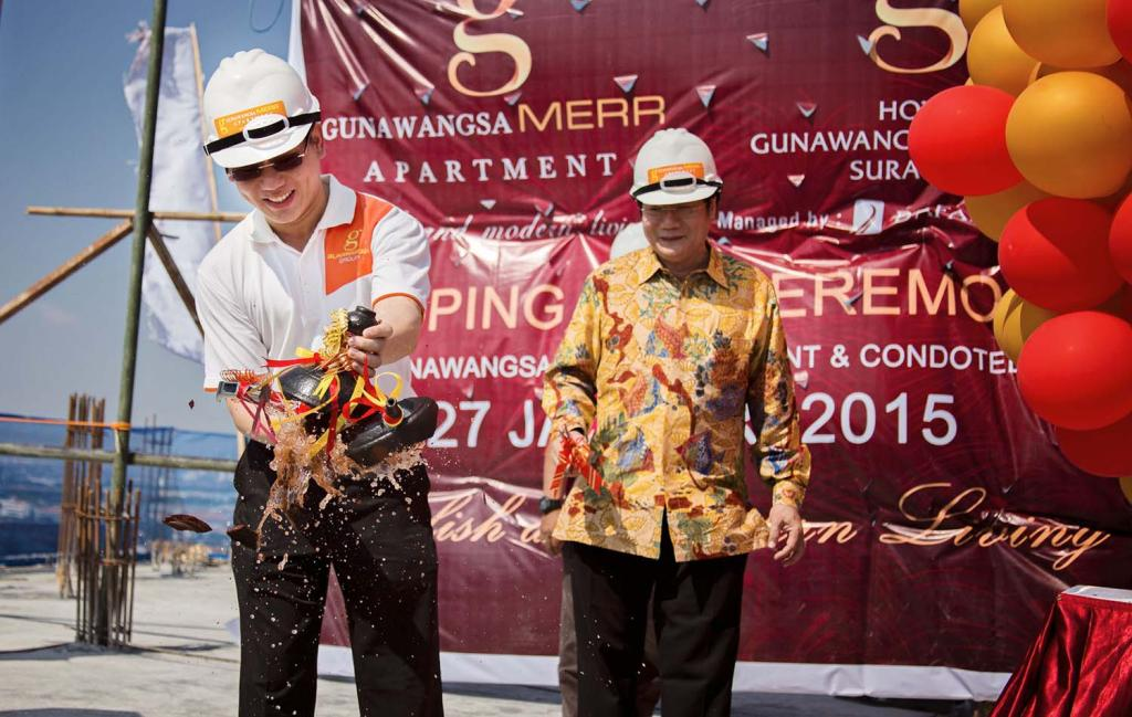 TOPPING OFF CEREMONY 27 JANUARY 2015