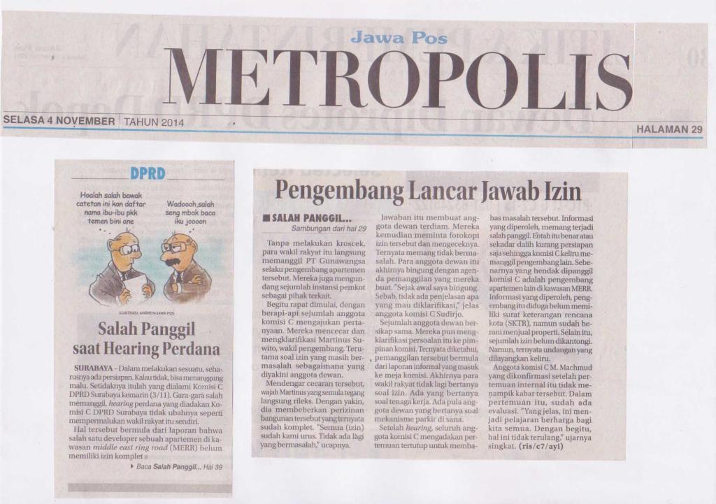 JAWA POS, tanggal 4 November 2014 halaman 29