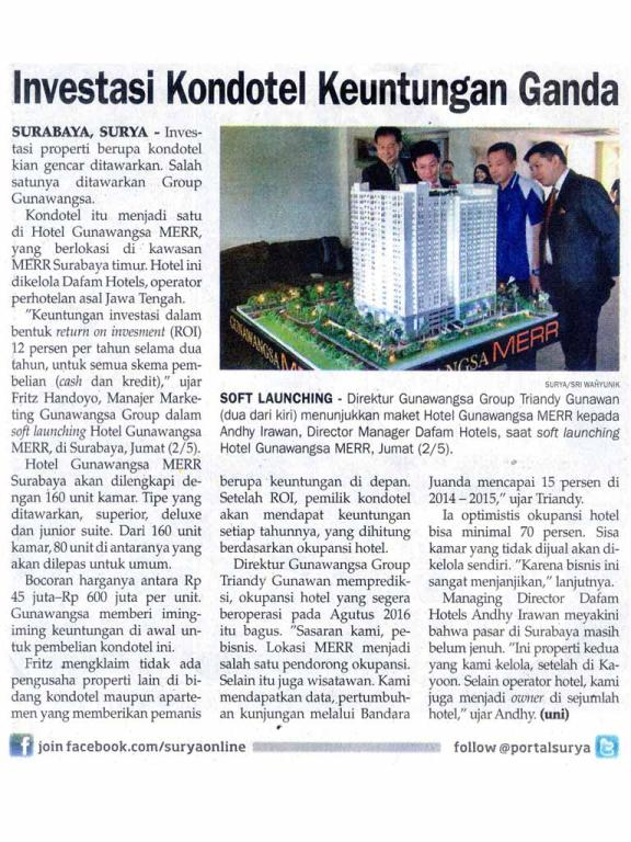 Koran Surya, 3 mei 2014